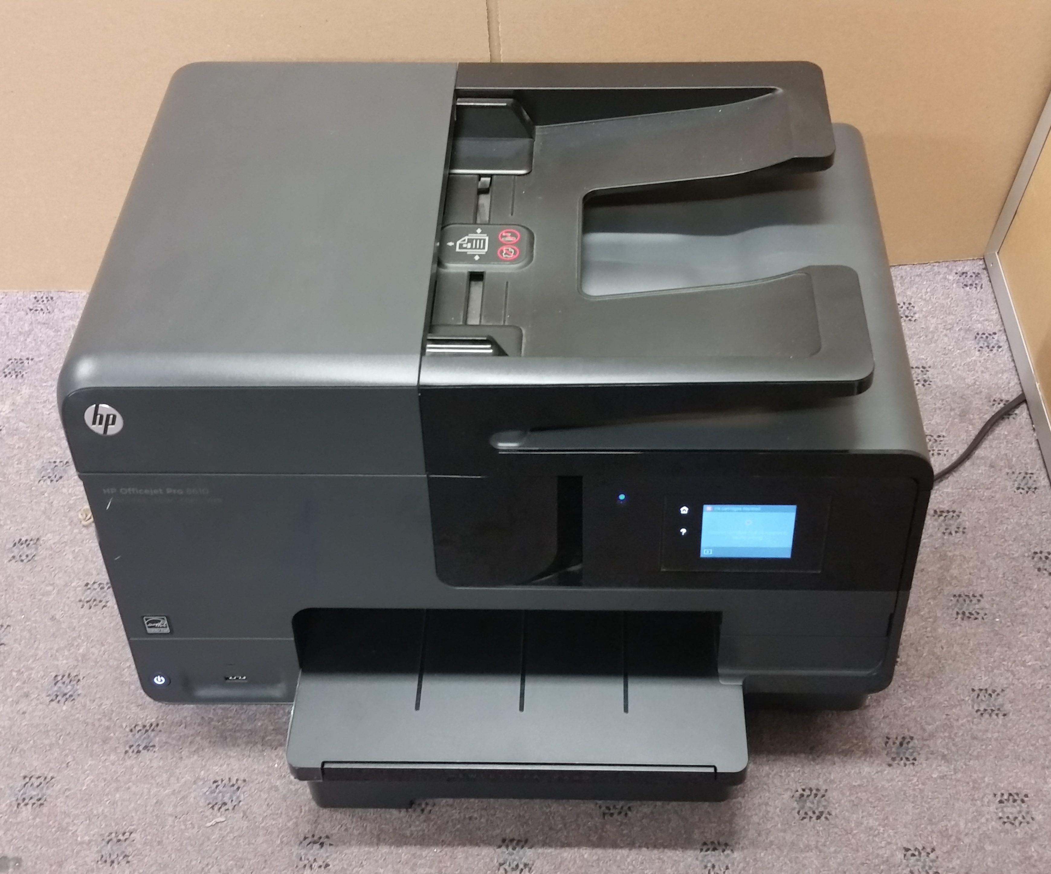 HP OfficeJet 8610 Inkjet MFP Printer Used